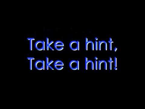 Take A Hint Lyric Video