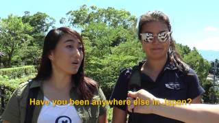 Travelers' Voice of Kyoto: KIYOMIZU DERA Area Interview005