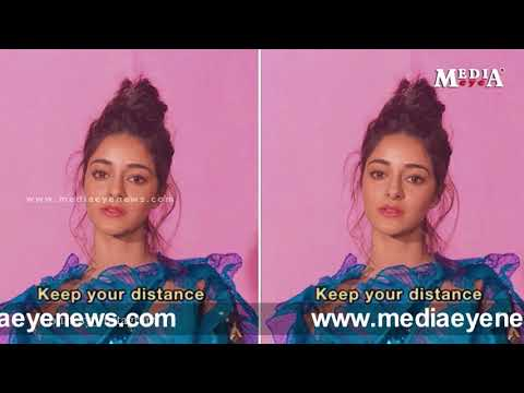 Ananya Panday Keep your distance post is attention worthy.