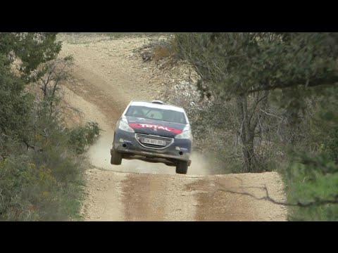 Test Cyril Desprès - Rallye terre des Causses 2015 [HD]