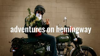 8. xmas video card from adventures on hemingway