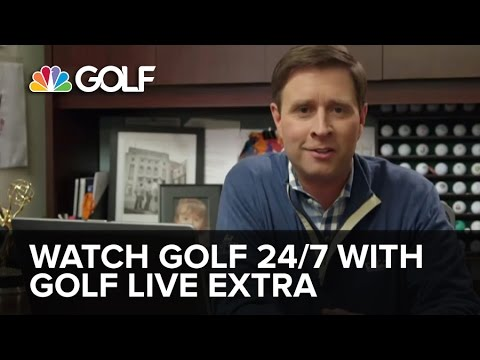 "Watch Live Golf with ""Golf Live Extra"" 