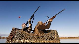chasse hunting . compilation tirs  gibier d'eau en camargue 2012
