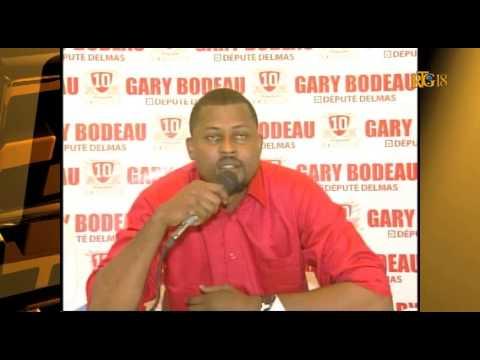 Candidat à la députation pour la circonscription de Delmas, Garry Bodeau