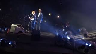 Ed Sheeran with Andrea Bocelli - Perfect @ Wembley Stadium, London 14/06/18