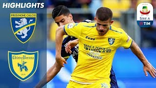 Video Frosinone 0-0 Chievo | Both Sides Held in Bottom of the Table Clash | Serie A MP3, 3GP, MP4, WEBM, AVI, FLV Mei 2019