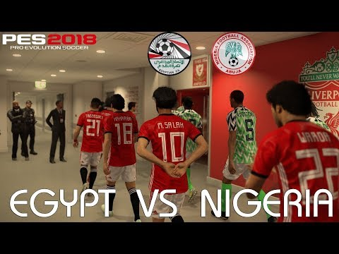 PES 2018 (PC) Egypt V Nigeria @ Anfield | Official 2018 FIFA World Cup Kits & Ball | 1080P 60FPS
