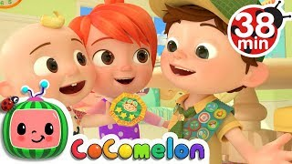 Video My Big Brother Song + More Nursery Rhymes & Kids Songs - CoCoMelon MP3, 3GP, MP4, WEBM, AVI, FLV Agustus 2019