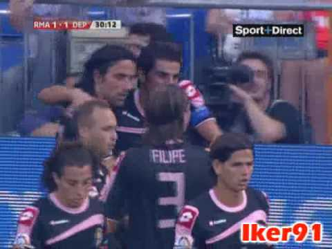 Gol de Riki al Real Madrid