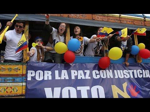 Κολομβία: Ιστορικό δημοψήφισμα για την ειρήνη