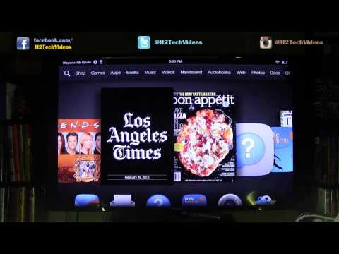 Kindle Fire HDX – How to Wirelessly Mirror to a TV (Using Amazon Fire TV)