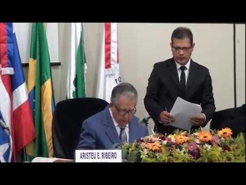 Câmara Municipal empossa Vereadores com eleição de nova Mesa Diretiva