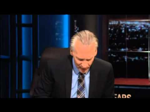 Zach Galifianakis se fuma un porro en directo en el programa de Bill Maher
