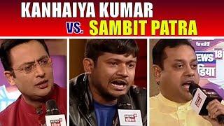 Kanhaiya Kumar vs Sambit Patra   Big Debate   Chaupal 2017   News18 India