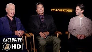 YELLOWSTONE Season 2 Exclusive Interview Wes Bentley, Neal Mcdonough & Gil Birmingham (2019) by Joblo TV Trailers
