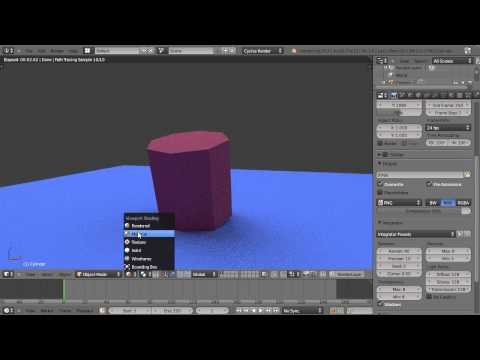 nodes - This is part one of an introductory tutorial series on the use of Blender Cycles, Materials and Nodes for new Blender users for new Blender users. Blender 2.65.