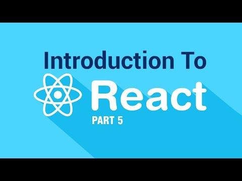 React JS StarterPack | Review | Part 5 | Eduonix