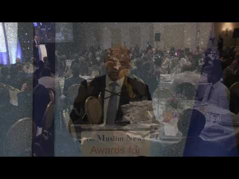 Rt Hon Sajid Javid MP Guest of Honour speaking at the Fifteenth The Muslim News Awards for Excellence 2017 event in London on 27 March 2017