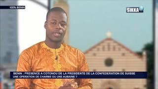 THEME: BENIN/PRESENCE A COTONOU DE LA PRESIDENTE DE LA CONFEDERATION DE SUISSE UNE OPERATION DE CHARME OU UNE AUBAINE?