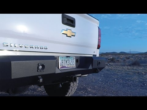 Reverse Light Ready Magnum Bumpers