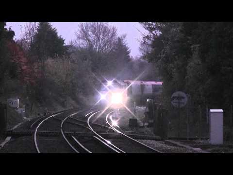 (D) Colas Rails 66846 Drags The Last Pendolino Coaches Through Otford Working 6X39 -  14/11/12