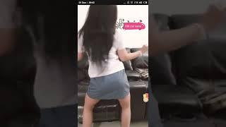 bigo tante joged pakai seragam sma goyang sampe bugil