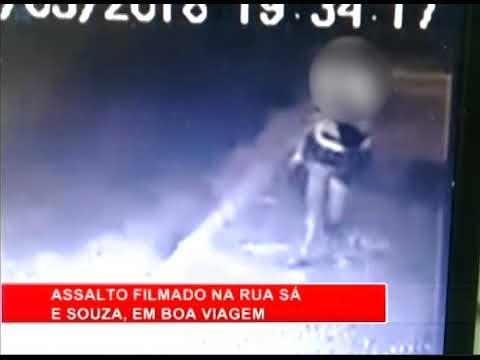 [RONDA GERAL] Flagrante de assalto na Rua Sá e Souza, em Boa viagem