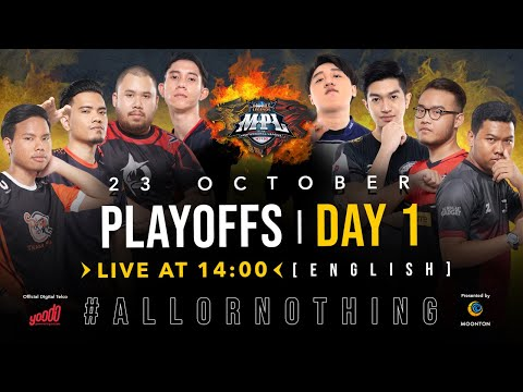 [English live] LIVE NOW: MPL-MY/SG Season 6  Playoffs Day 1! Watch Live to win prizes!
