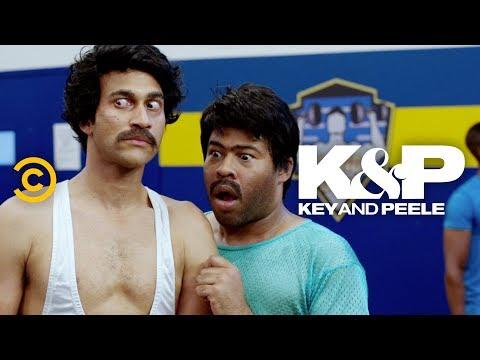 Karim and Jahar Scope Out the Gym - Key & Peele