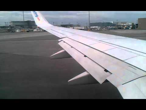 Sunwing - Boeing 737-800, Taxiing and take off from montreal ( yul ) to holguin ( hog ) !!! enjoy.