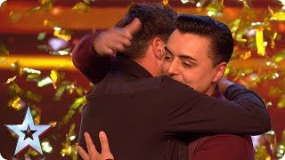 Marc Spelmann Gets The First Golden Buzzer Of 2018  Auditions Week 1  Britain's Got Talent 2018