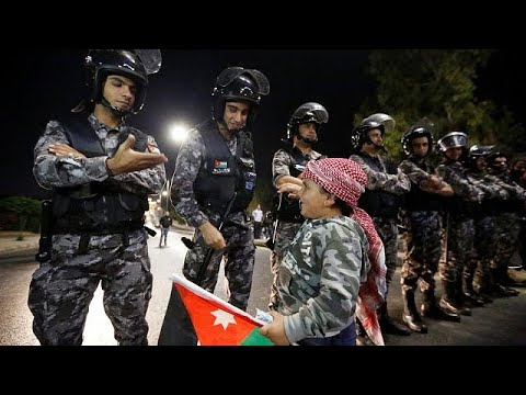 Massenproteste in Jordanien: