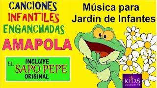 Cantando en Amapola  Jardín de Infantes  canciones infantiles