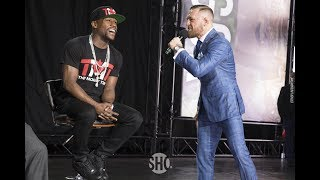Video Conor McGregor Goes After Showtime, Floyd Mayweather  in Speech - MMA Fighting MP3, 3GP, MP4, WEBM, AVI, FLV Juni 2019
