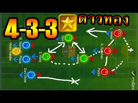ฟีฟ่าออนไลน์ 3 - แผน 4-3-3 ดาวทอง A [ซี๊ดอ๊าาาา]