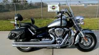 9. 2008 Kawasaki Vulcan 2000 Classic LT Loaded with Accessories and Chrome!