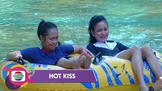 Video One Day With Selfi dan Rara LIDA - Hot Kiss MP3, 3GP, MP4, WEBM, AVI, FLV Januari 2019