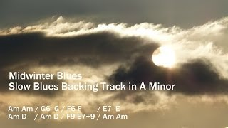 Mid Winter Blues - Backing Track