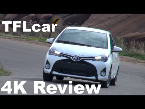 2015 Toyota Yaris TFL4K Review: A French Built & Designed Compact Japanese Car?
