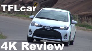 7. 2015 Toyota Yaris TFL4K Review: A French Built & Designed Compact Japanese Car?