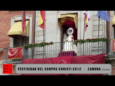 Festividad del Corpus Christi 2012 en Zamora (España)