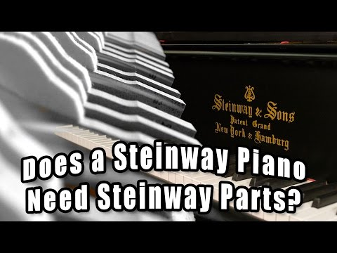 Should You Rebuild a Steinway Piano with Steinway Parts?