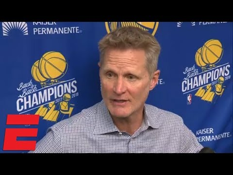 Video: Steve Kerr says Warriors haven't been in 'the real NBA' the past few years | NBA on ESPN