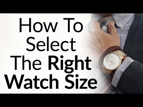 , title : '5 Rules To Buy The Right Size Watch For Your Wrist Proportions - Wristwatch Case & Band Size'