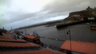 Whitby Tue 15th Sep 2015 24-Hour Time-lapse (Downriver)