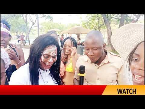 Bwana Njombe enjoying with amazing people at cross park