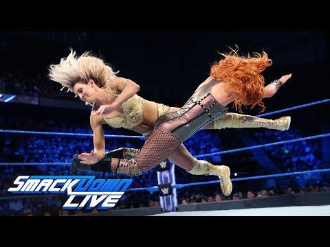 Charlotte Flair vs. Becky Lynch: SmackDown LIVE, June 5, 2018