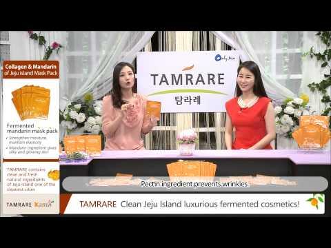Tamrare Collagen Mandarin Mask Pack
