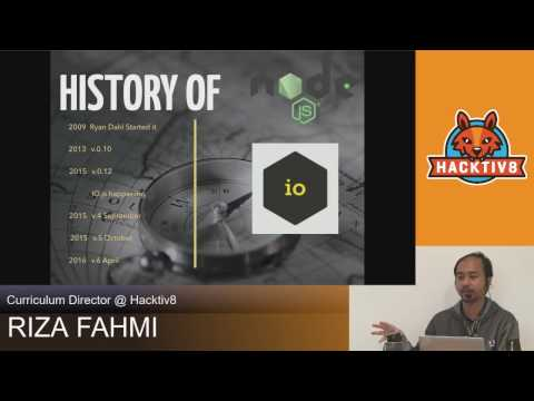 Introduction To NodeJS By Riza Fahmi