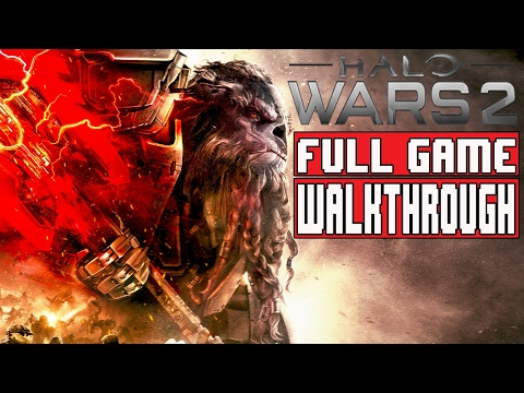HALO WARS 2 Gameplay Walkthrough Part 1 FULL GAME (1080p) - No Commentary (видео)